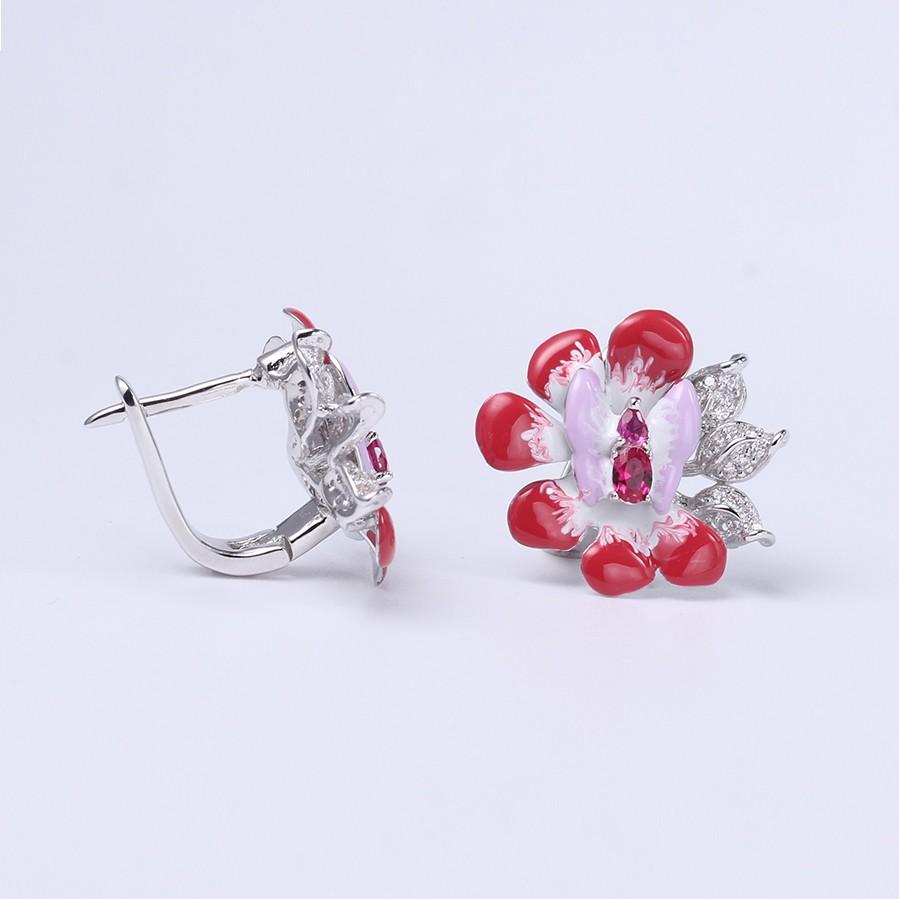 Kirin Jewelry -Professional Ladies Jewellery Set 925 Silver Jewellery Set-2