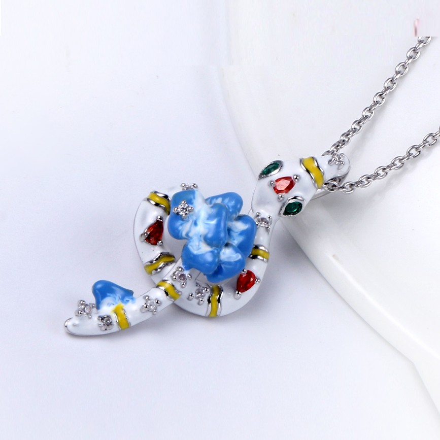 Kirin Jewelry -Best Silver Necklace Set Online 925 Sterling Silver Animal Shape