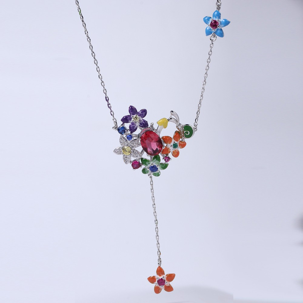 Kirin Jewelry -Womens Necklace And Bracelet Set Manufacture | Flower Shape