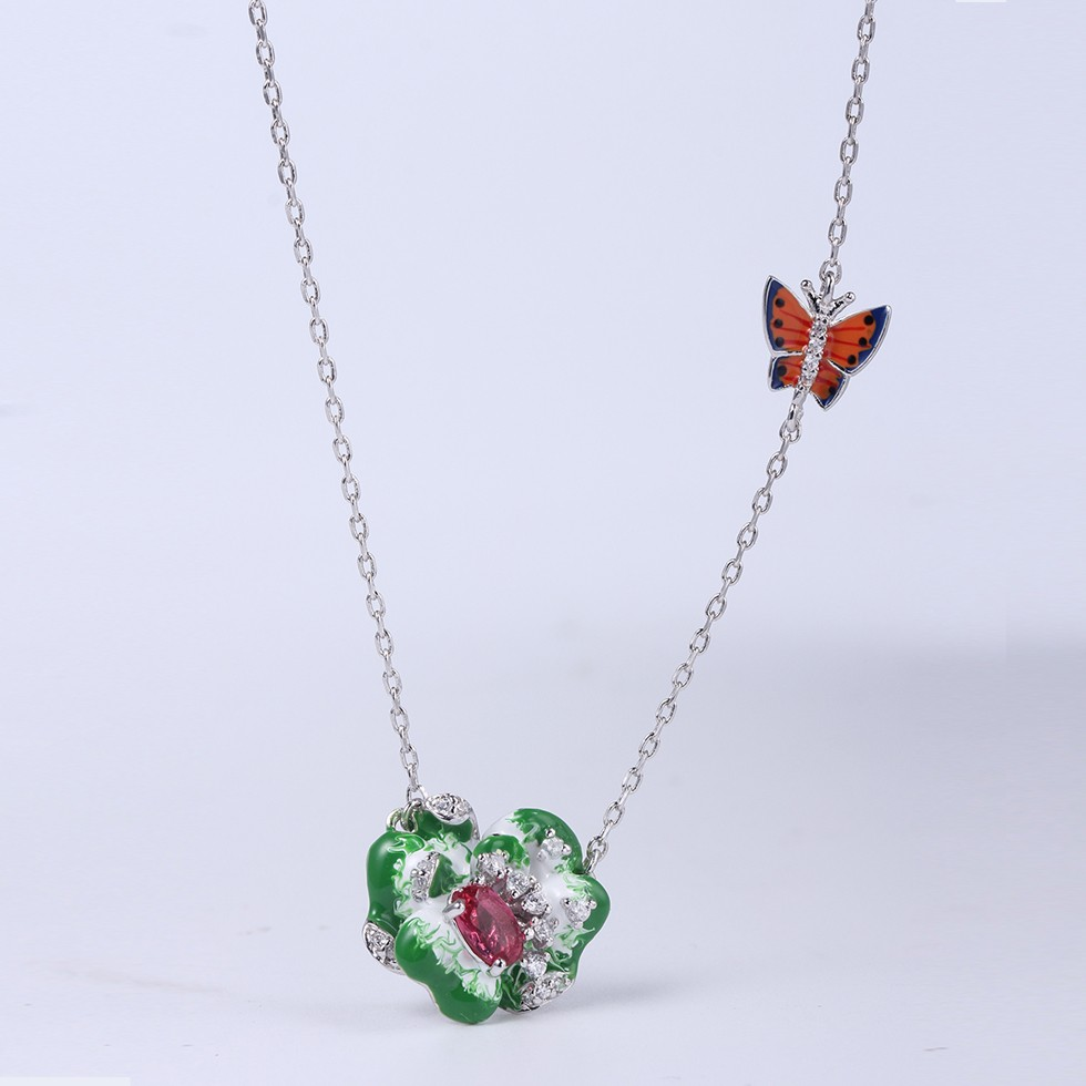 Kirin Jewelry -Earring And Bracelet Set, Wholesale Women Flower Shape Jewelry