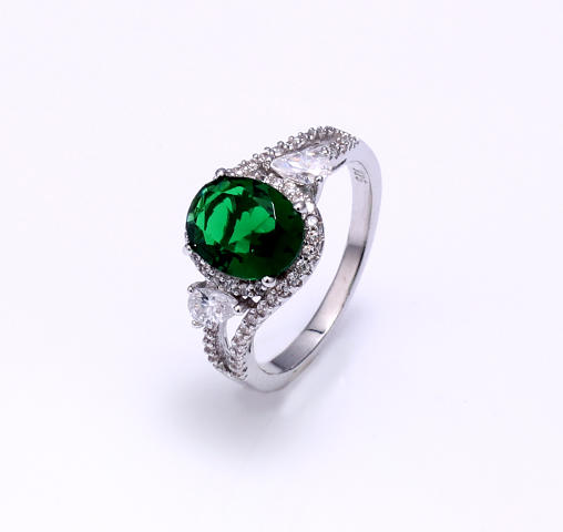 Women Ladies Real 925 Sterling Silver Cubic Zirconia Rings Jewelry 104243