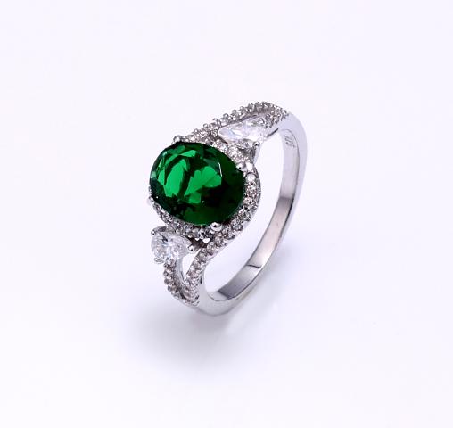 Kirin Jewelry -Best Sterling Silver Ring Set Women Ladies Real 925 Sterling Silver