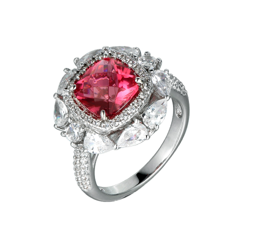Kirin Jewelry -Sterling Silver Cz Rings | Elegant Cubic Zirconia For Women Wedding