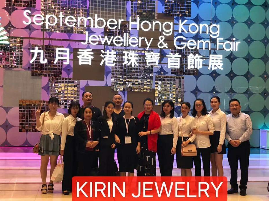 HK Jewelry Fair on September 2018