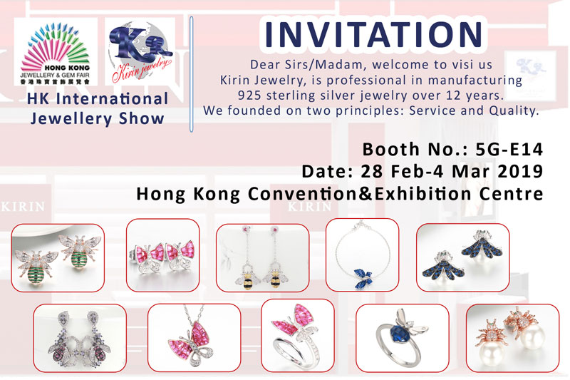 Kirin Jewelry -Hongkong Jewlery Show On March 2019 | 925 Silver Ring Price