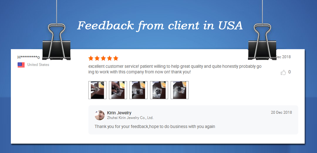 Kirin Jewelry -How The Customers Say About Our Jewelry   News-3