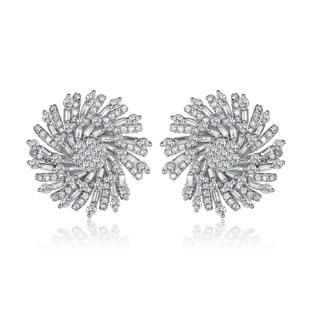 Stud Earrings for Women Jewelry with Cubic Zircon 300417