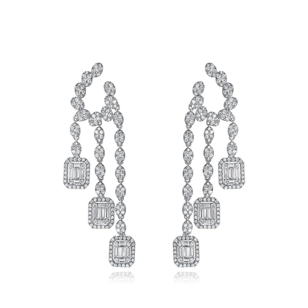 Creative Fashion Design Drop Pendant Earrings 300565