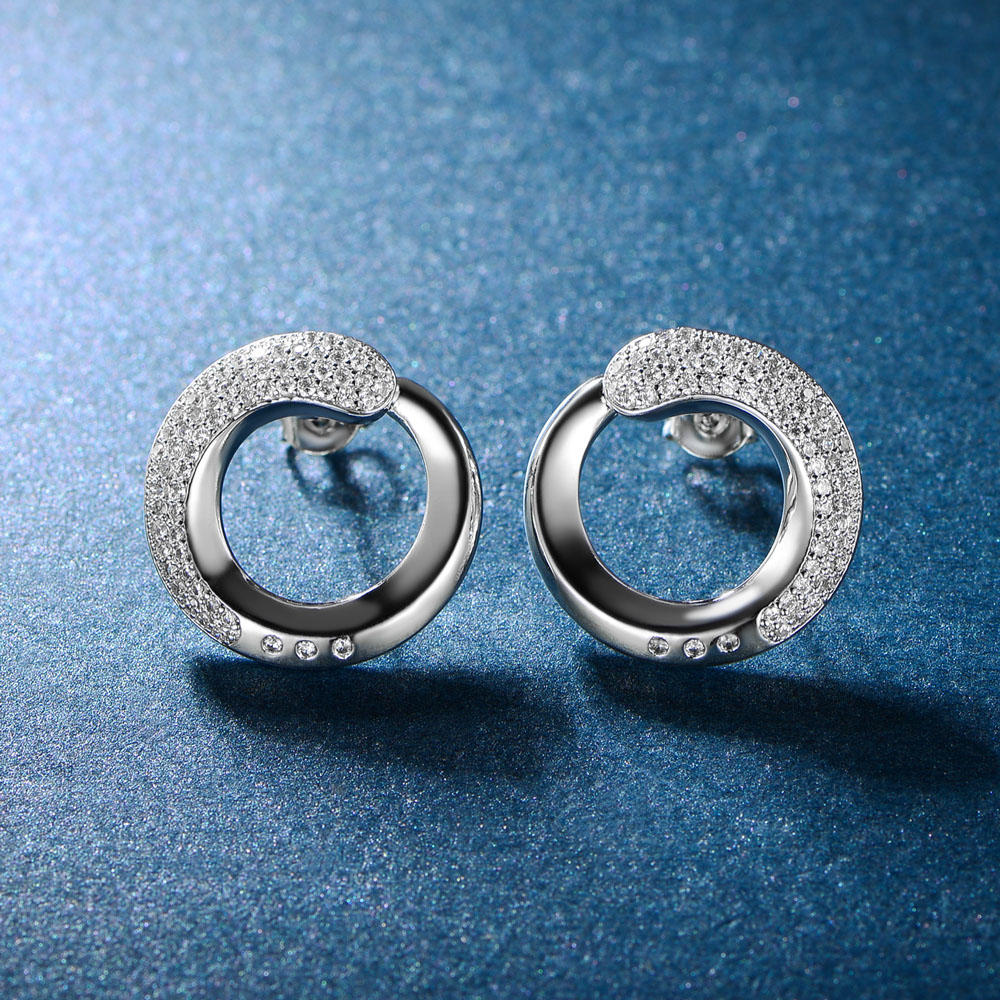 New Model Earrings, Stud Women Earrings 86737E