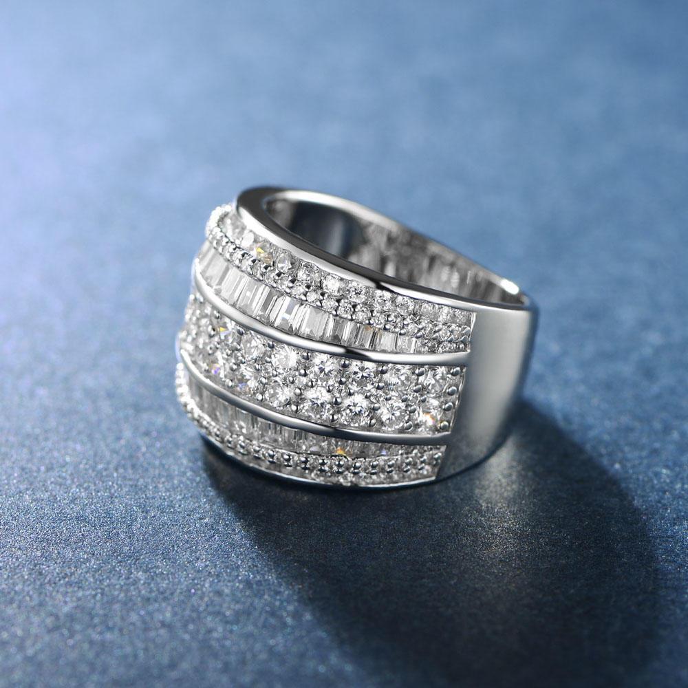 Zircon Jewelry 925 Sterling Silver Ring 107316