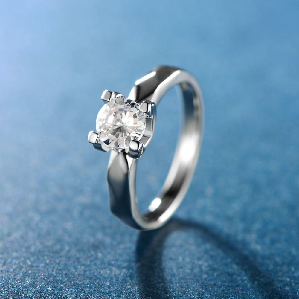 Wedding Bride Ring 925 Sterling Silver Ring Jewelry 107032