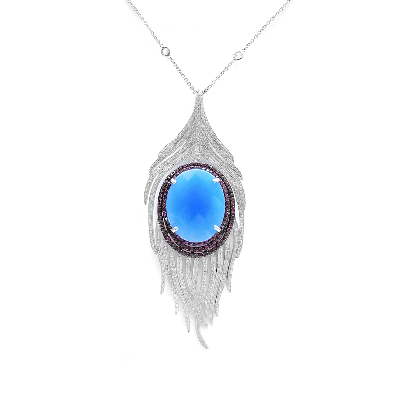 product-Elegant 925 Sterling Silver Woman Chain Necklace 80857NW-Kirin -img