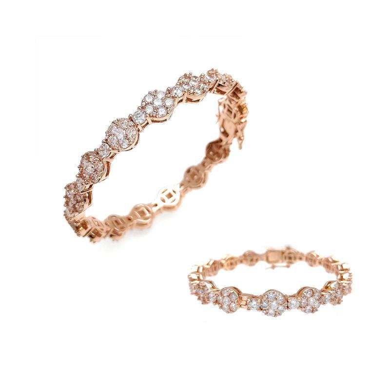 Bling 925 Sterling Silver Bracelet for Woman