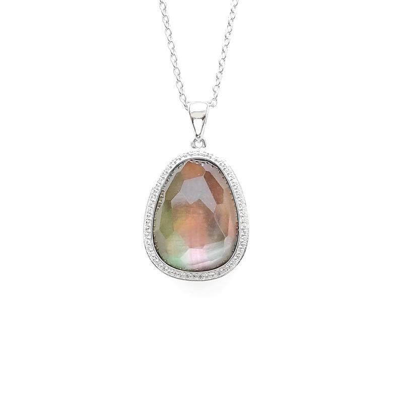 Elegant Pendant 925 Sterling Silver for Woman 83210PW