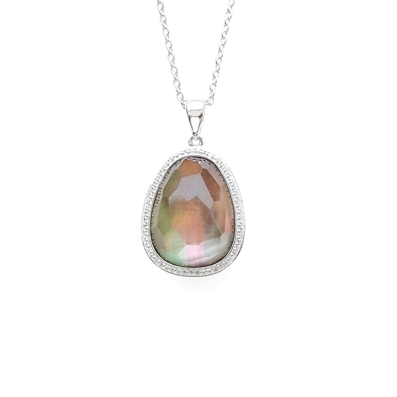 product-Kirin -Elegant Pendant 925 Sterling Silver for Woman 83210PW-img