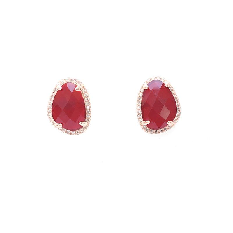 Simple Pretty 925 Sterling Silver Earrings for Woman 33585W