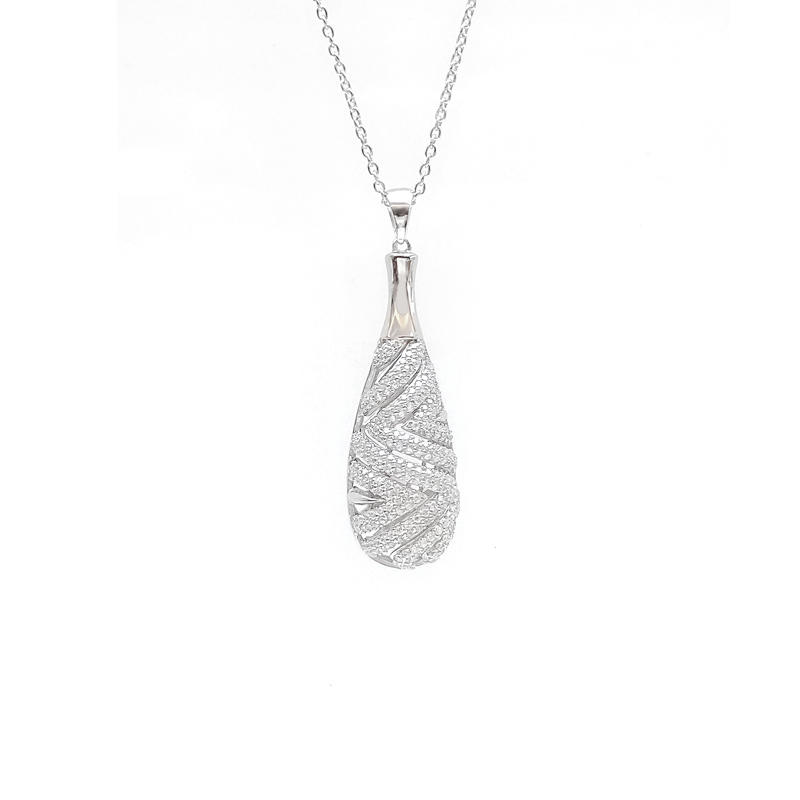 925 Sterling Silver Elegant Pendant for Woman 83498PW