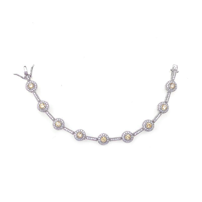 Custom 925 Sterling Silver Bracelet for Woman 60661