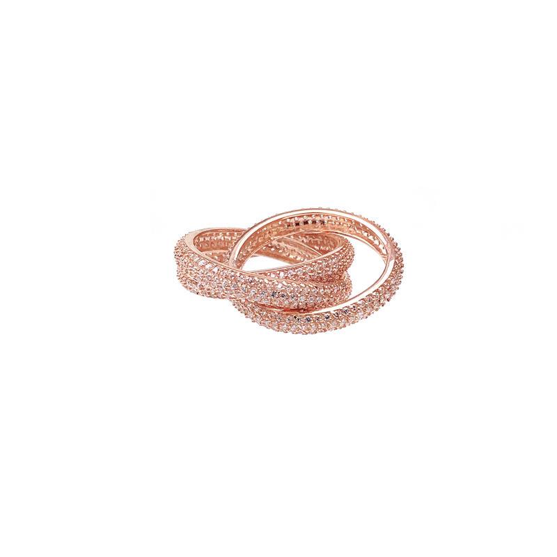 Fashion Ladies 925 Sterling Silver Ring 14180