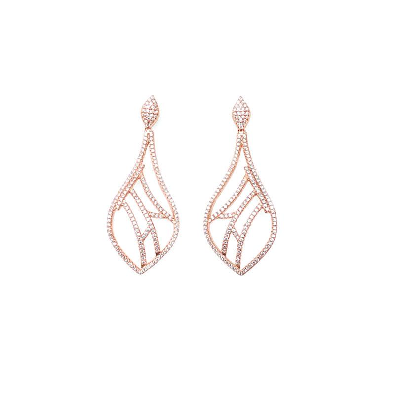Drop 925 Sterling Silver Earrings for Woman 34750W