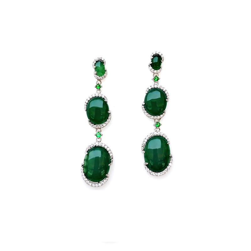 Charm 925 Sterling Silver Earring for Woman 60660E