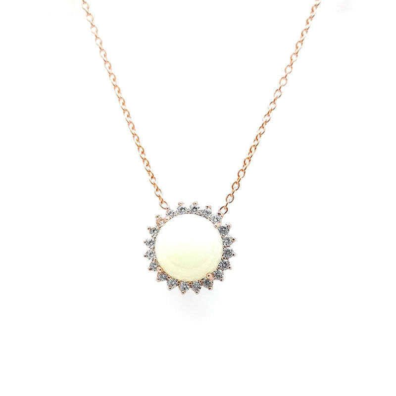 Elegant 925 Sterling Silver Pendant for Woman 81064P