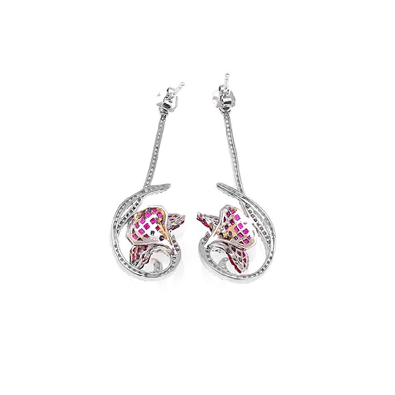 Invisible 925 Sterling Silver Jewelry for Woman 38507