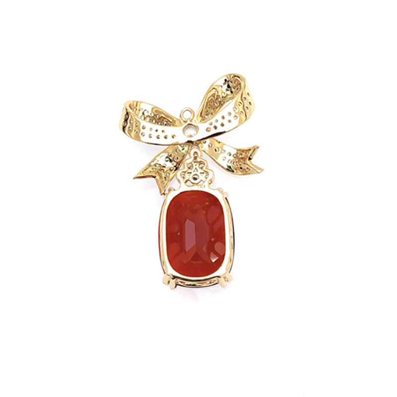 Custom 925 Sterling Silver Pendant for Woman 25158