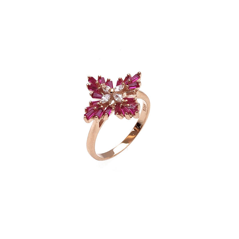 Fashion 925 Sterling Silver Ring for Woman 82827R