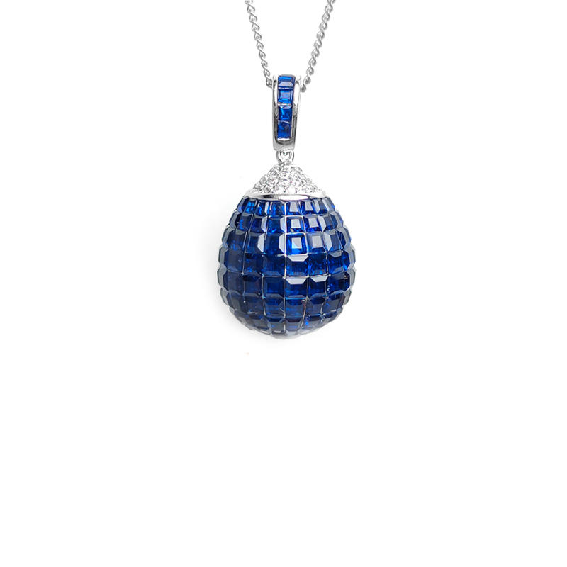 Custom 925 Sterling Silver Pendant for Woman 28620
