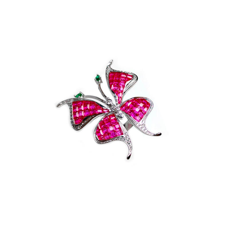 Special Butterfly 925 Sterling Silver Ring for Woman 106149