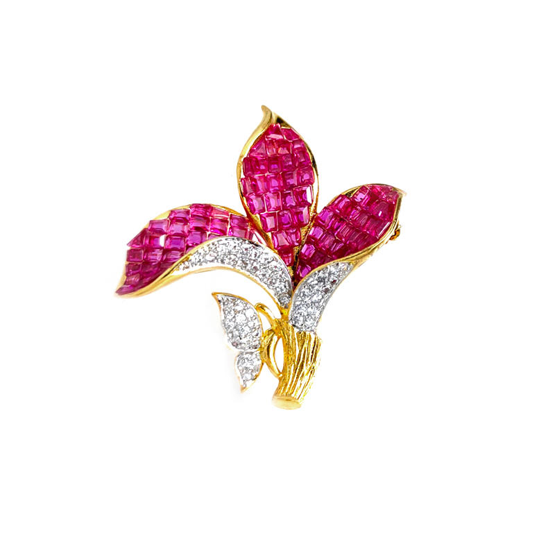 Stylish 925 Sterling Silver Brooch for Woman 40382
