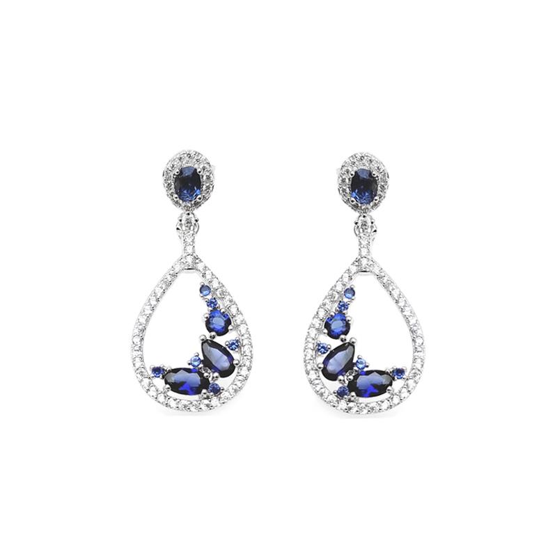 product-Stylish 925 Sterling Silver Earrings for Woman 86696EW-Kirin -img