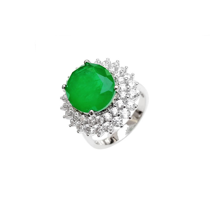 Custom 925 Sterling Silver Rings for Woman 86566RW