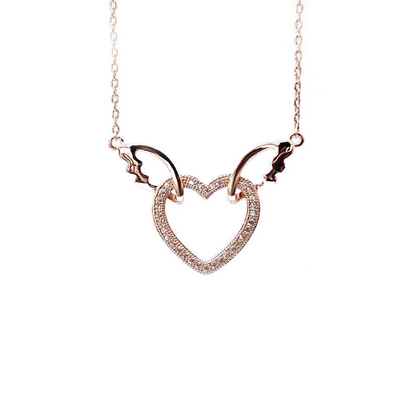 Love Wings 925 Sterling Silver Pendant for Woman 28449