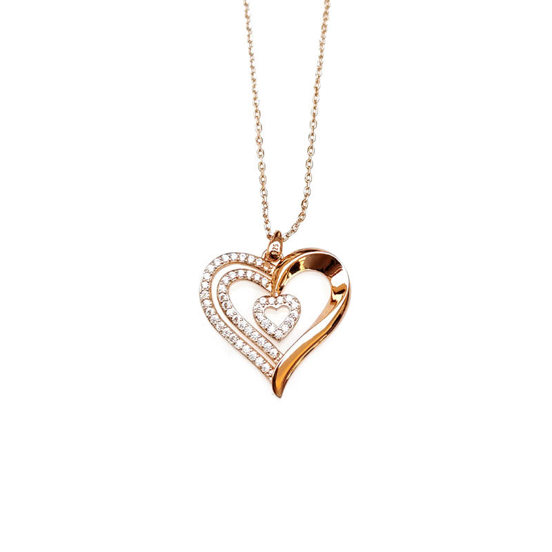 Love 925 Sterling Silver Pendant for Woman 28464
