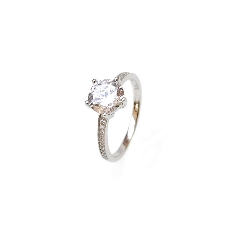 Classic 925 Sterling Silver Ring for Woman 81154R