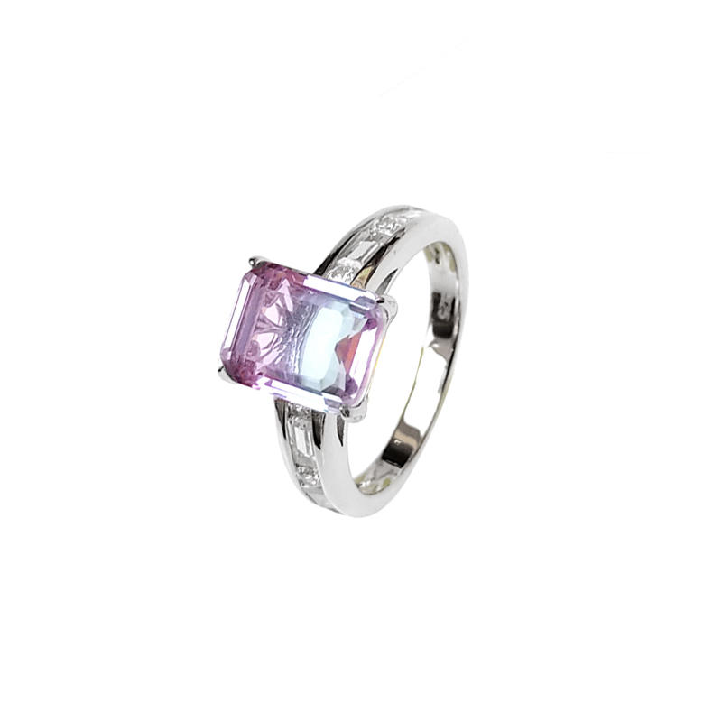 Pretty Color 925 Sterling Silver Ring for Woman 102404
