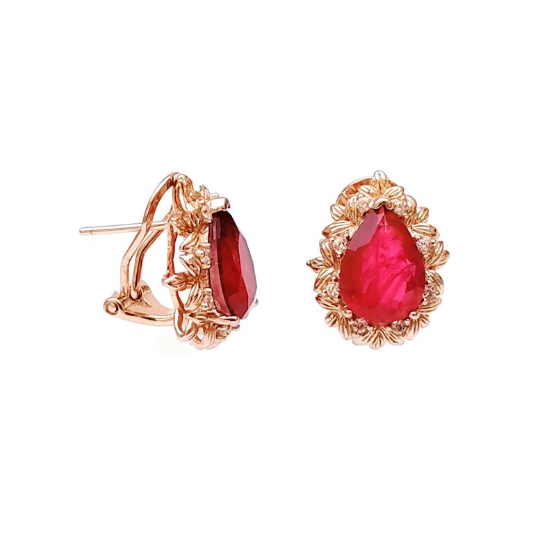 product-Elegant 925 Sterling Silver Earrings for Woman 84013EW-Kirin -img