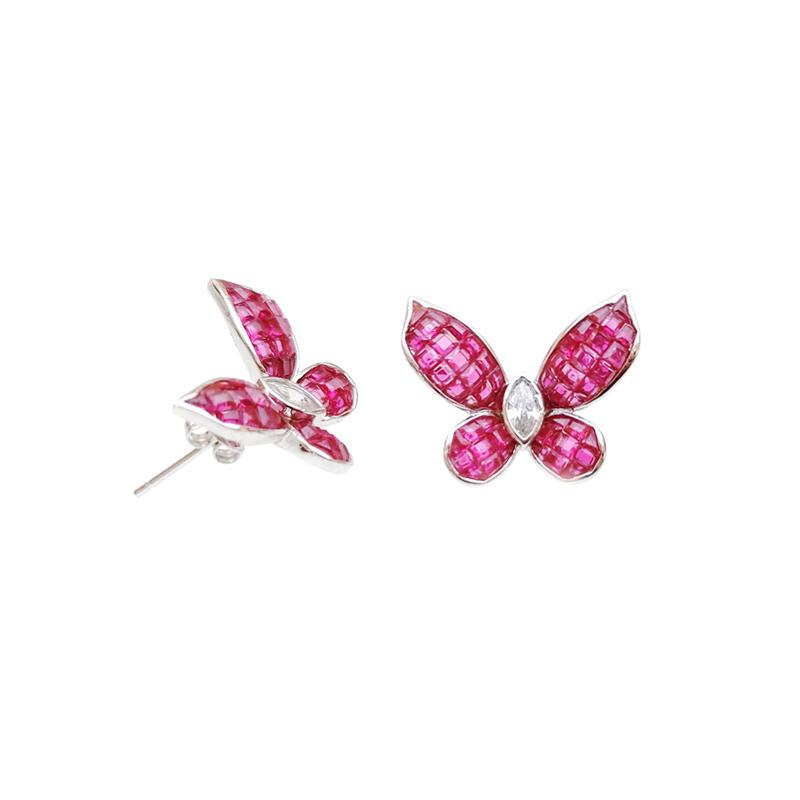925 Sterling Silver Jewelry Earrings for Woman 300086