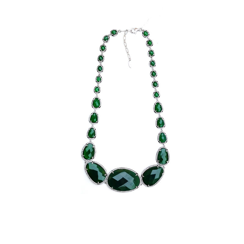 Luxury 925 Sterling Silver Necklace for Woman 80840