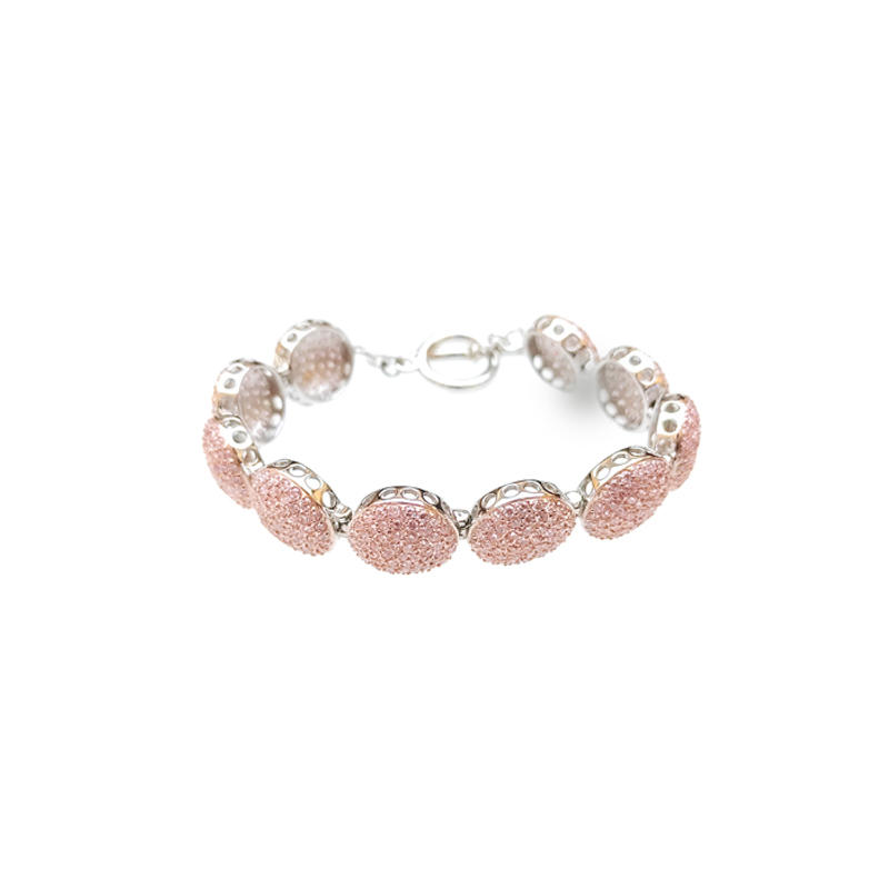 Stylish 925 Sterling Silver Bracelet for Woman 60388