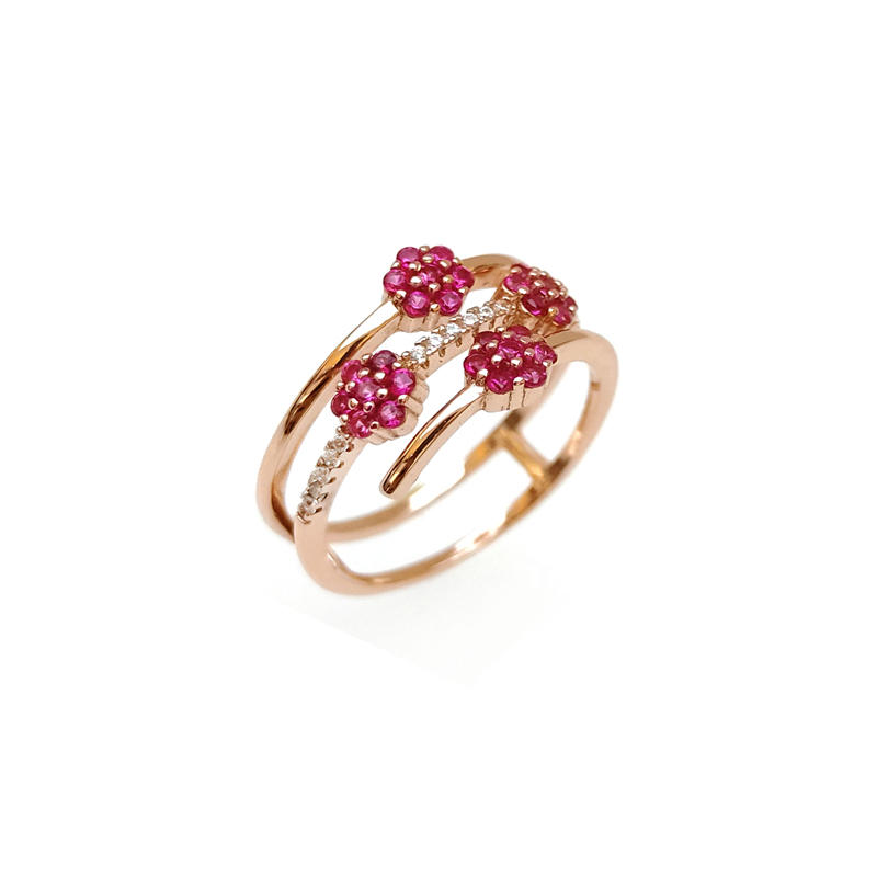 Custom 925 Sterling Silver Rings for Woman 103985