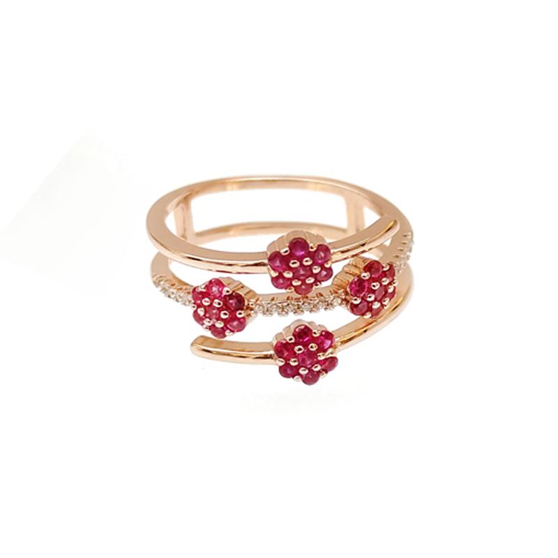 product-Custom 925 Sterling Silver Rings for Woman 103985-Kirin -img