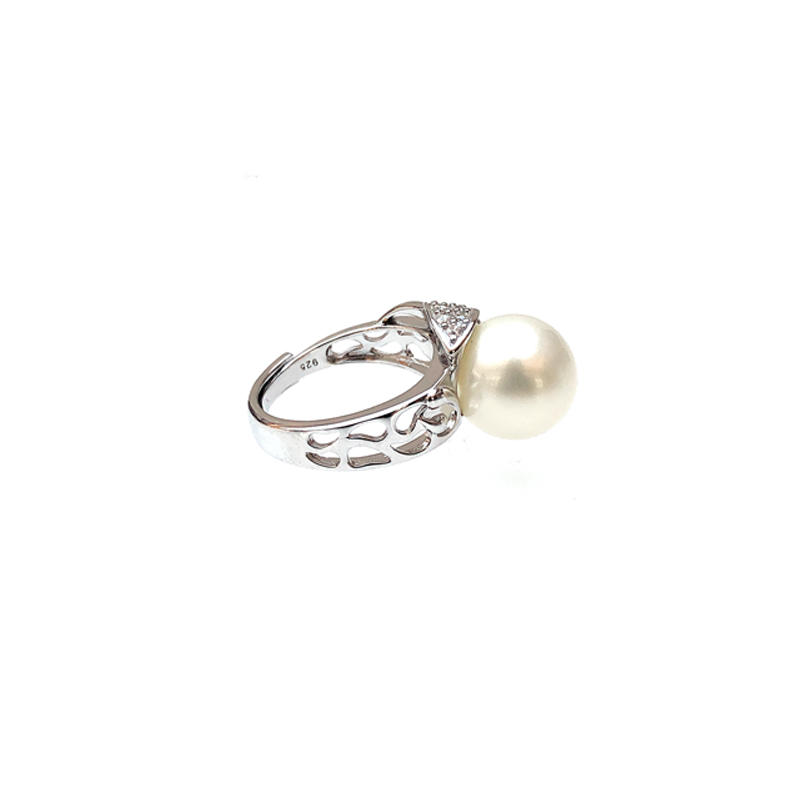 Minimalist Pearl 925 Sterling Silver Rings for Woman 19260
