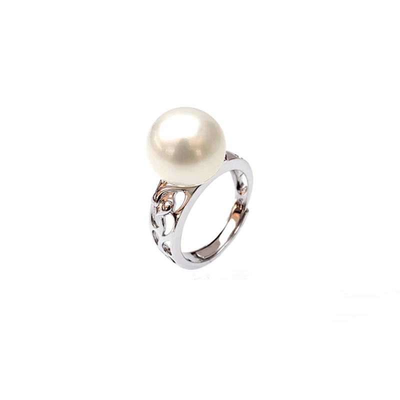 product-Minimalist Pearl 925 Sterling Silver Rings for Woman 19260-Kirin -img