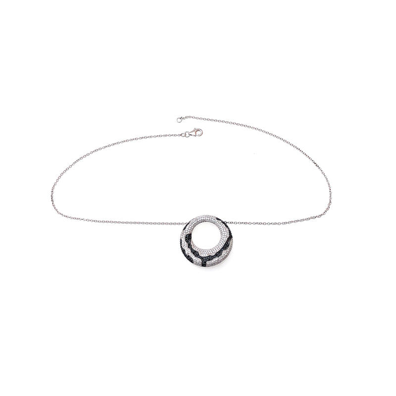 Minimalist 925 Sterling Silver Pendant for Ladies 70068B