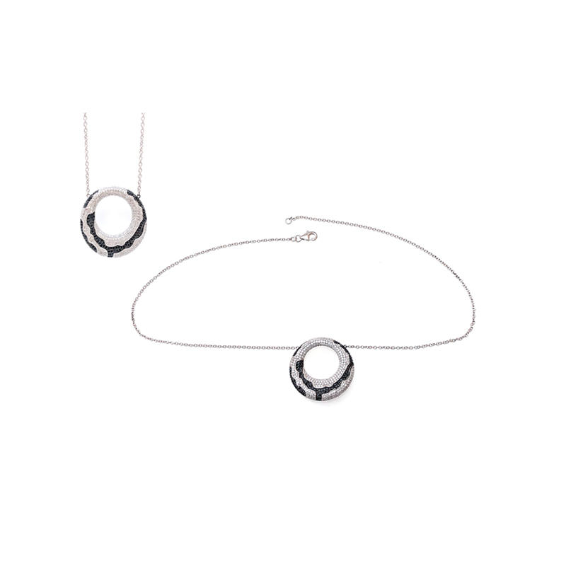 Minimalist 925 Sterling Silver Pendant for Ladies 70068B