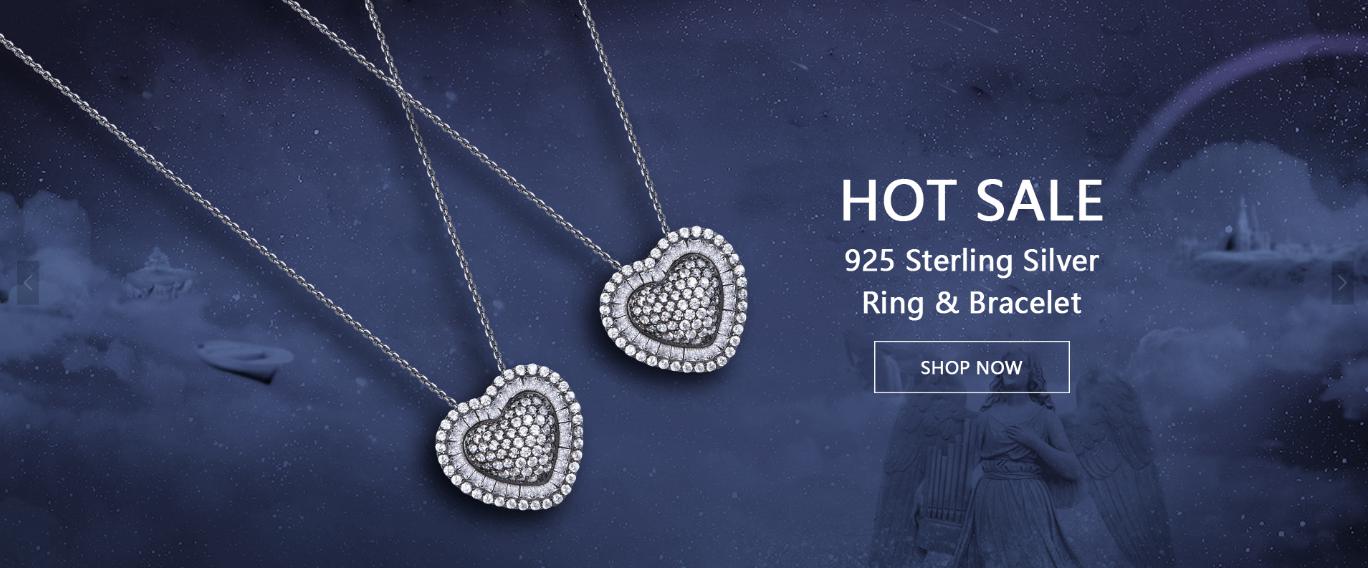 product-Kirin -Minimalist 925 Sterling Silver Pendant for Ladies 70068B-img