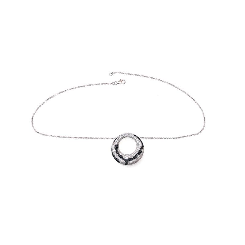 product-Minimalist 925 Sterling Silver Pendant for Ladies 70068B-Kirin -img